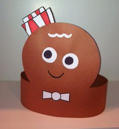 www.LauraMurrayBooks.com - GB Man construction paper hat