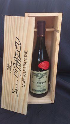 Le CV bouteille de vin Simon Mahieu