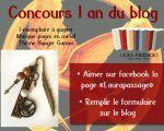 Concours 1 an du blog Laurapassage – Grand Marque-pages en métal thème Game of Thrones