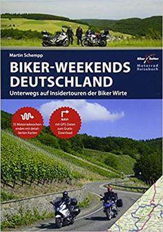 Biker Weekends Deutschland - Buch von Martin Schempp   #motorrad #deutschland #touren #buch #affiliate Weekender, Ninet Scrambler, Biker, Products, Europe, Pictures, Bicycling, Baltic Sea, Alps
