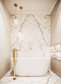 Modern Luxury Bathroom, Bathroom Design Luxury, Bathroom Design Small, Home Room Design, House Design, Vanity Design, Bathroom Plans, Minimalist Interior, Amazing Bathrooms