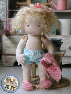 Vintage doll by Lalinda.pl