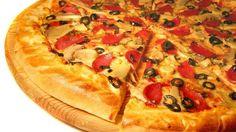 Massa de pizza e molho pizzaiolo