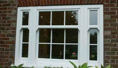 Designer wood sash windows