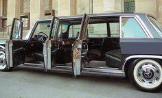 "1972 Mercedes Benz 600 Pullman ""Grosser"". The original factory stretch limousine."