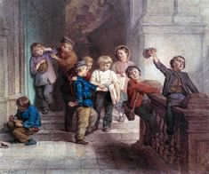 Playing Outside the School Room - Jacob Spoel