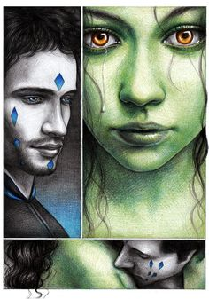 Fiyero + Fae. Excuse me while I try to piece myself back together. (Lovesick by youngmoons.deviantart.com on @deviantART)