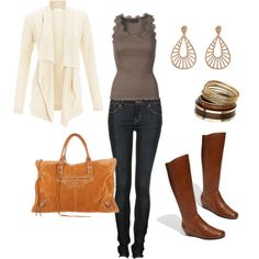 casual neutral outfit