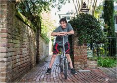 Portrait location: Use the gorgeous scenery throughout downtown Charleston as the backdrop.  Here we have a beautiful old brick alley walkway in the old part of Charleston, South Carolina- April O'Hare Photography http://www.apriloharephotography.com