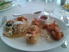 Trio Shrimp Platter , Chart House, Atlantic City NJ