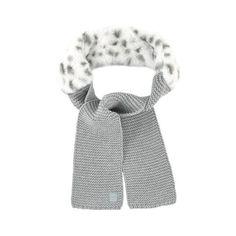 Lili Gaufrette - Bi-material scarf - 184349