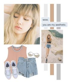 """Lalisa Manoban"" by lazy-alien ❤ liked on Polyvore featuring Chicnova Fashion, Puma, country, lisa, BlackPink and LalisaManoban"