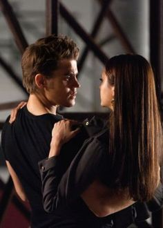 """All I see is Stefan and Elena. And I think if you look hard enough, you will too."""