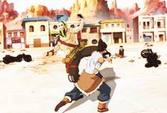 Legend of Korra.  Gorgeous animation  #korra