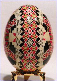 Pysanky Eggs - Traditional Paska