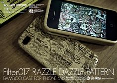 FILTER017 RAZZLE DAZZLE PATTERN BAMBOO IPHONE CASE by Filter017 , via Behance