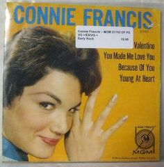 Connie Francis ~ MGM X 1703 45 EP w/ PS