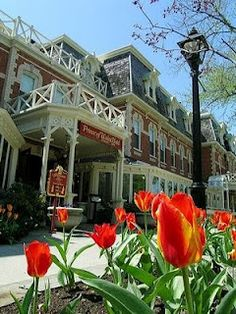 """Prince of Wales Hotel in the picturesque Town of """"Niagara on the Lake"""", Ontario, Canada O Canada, Canada Travel, Visit Canada, Beautiful World, Beautiful Places, Places To Travel, Places To Go, Fall Vacations, Niagara Region"""