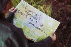 We are all explorers trying to fin ourselves  #travel #map  http://thesitotacollection.com/
