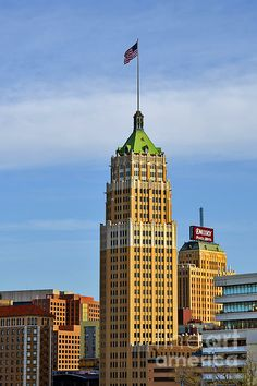 'Tower Life Building San Antonio, TX' Photograph by Christine Till Fine Art Prints for Sale at http://fineartamerica.com/featured/tower-life-building-san-antonio-tx-christine-till.html and at http://pixels.com/featured/tower-life-building-san-antonio-tx-christine-till.html NEW! Now 'Tower Life Building San Antonio, TX' can also be commercially licensed at http://licensing.pixels.com/profiles/christine-till.html