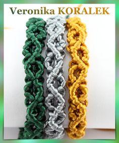 Bracelets made of satin cord Beaded Jewellery, Jewelry, Micro Macrame, Bracelet Making, Friendship Bracelets, Cord, Satin, Crafts, Inspiration