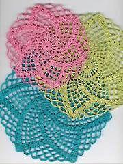 Crochet Doily Patterns - Easy Summertime Doilies Pattern Pack
