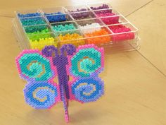 Butterfly perler beads by Delaney S. - Perler® | Gallery