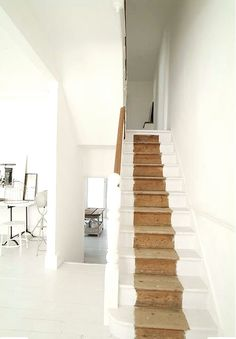 Natural stair runner