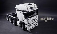 LEGO Mercedes-Benz Actros 8x4 by shineyu