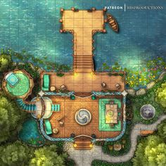 Fantasy Map, Fantasy World, Fantasy House, Dnd World Map, Building Map, Rpg Map, Map Pictures, Dungeon Maps, Tabletop Rpg