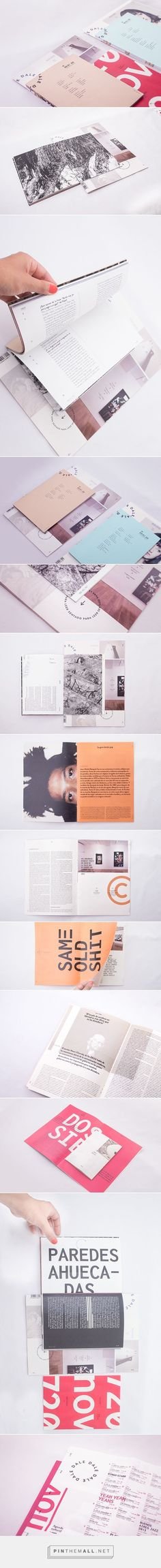 Look at the cut and layout DALE mag / by Florencia Baldini Graphic Design Layouts, Graphic Design Typography, Layout Design, Design Editorial, Editorial Layout, Design Graphique, Art Graphique, Layout Inspiration, Graphic Design Inspiration