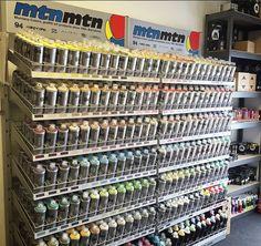 Graffiti Supplies, Art Supplies, Graff City, Graffiti Art, Wine Rack, Montana, Paint, Top, Products