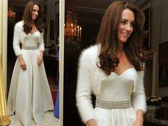 Segundo vestido de Kate