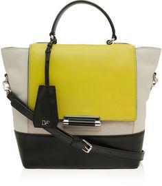 b51ae1e3e5d Top Handle Small Tote Bag - Lyst Small Tote Bags, Diane Von Furstenberg,  Shopper