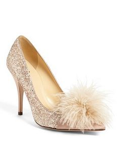 rose gold glitter pumps http://rstyle.me/n/ucz4wpdpe