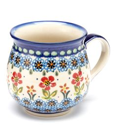 Red Flower Bubble Mug   Daily deals for moms, babies and kids