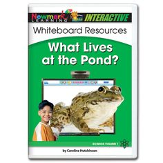Science Interactive: What Lives at the Pond? Interactive Whiteboard CD-ROM