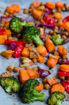 Quinoa cu legume si naut la cuptor - Din secretele bucătăriei chinezești Quinoa, Broccoli, Pork, Gluten Free, Vegetables, Ethnic Recipes, Sweet, Salads, Kale Stir Fry