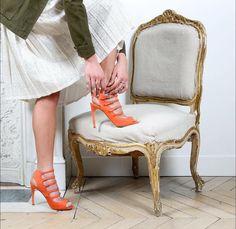 Those shoes!