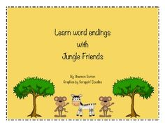 For T8 W1 Here is a fun activity to help students learn ending sounds. This activity contains 4 ending mats, 36 ending cards, 1 recording sheet, and 1 senten...