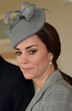 Jane Taylor Grey Bow Hat