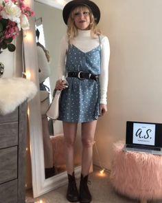 Polka Dot Summer Dresses, Summer Dress Outfits, Fashion Hacks, Fashion Outfits, Fashion Tips, Mode Au Ski, Latest Outfits, Dot Dress, Polka Dots