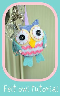 Italian Website - Scroll down to this tutorial as it has great photos and templates to make this little felt owl.