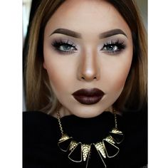 Darker makeup | Glam
