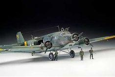 Junkers Ju 52/3mg 4e 1/48 scale  Cool kit I'd like to build.