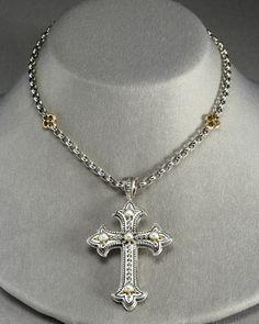229 best konstantino images on pinterest cross pearl cross pendant aloadofball Gallery
