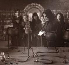 Teacher Snape's class
