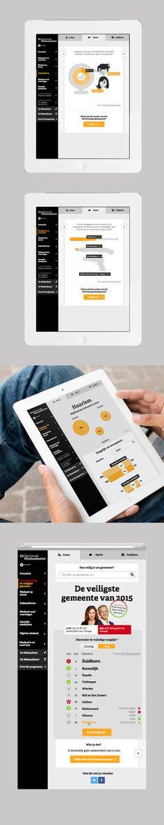 AvroTros De Nationale Misdaadmeter - Portfolio of Twan Minten #Webdesign