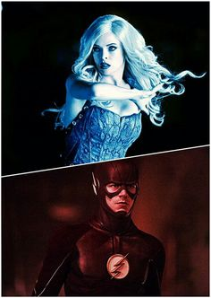 Snowbarry » FlashFrost - Killer Frost and The Flash