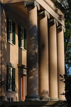 Capitals, Columns, and Culture. The Old Governor's Mansion, Milledgeville, GA, 1839. http://www.georgiatrust.org/historic_sites/rambles/ramble.php